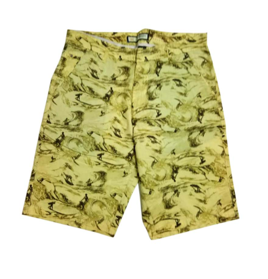 UTD SURFING CANDY-MUSTURD-MN SHORTS