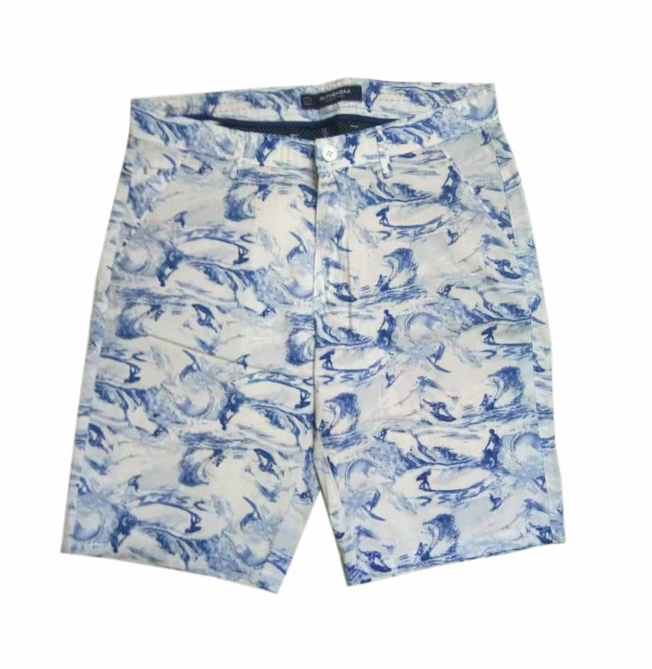 UTD SURFING CANDY-WHITE BLUE-MN SHORTS