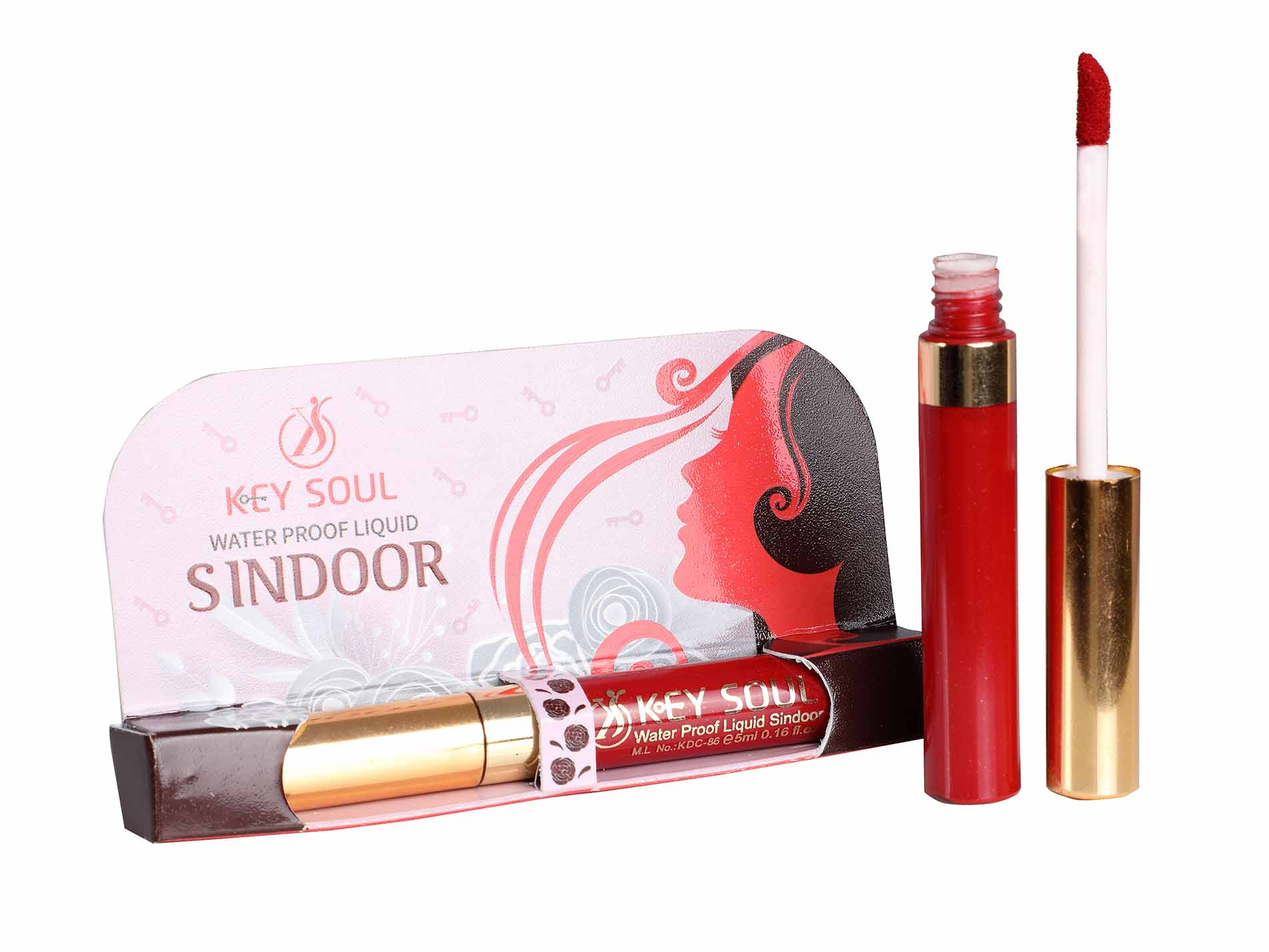 Keysoul Waterproof liquid Sindoor-Red