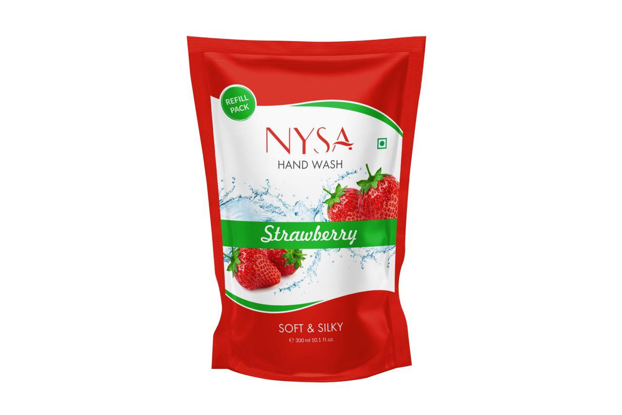 Nysa Strawberry Handwash(300ml) Refill