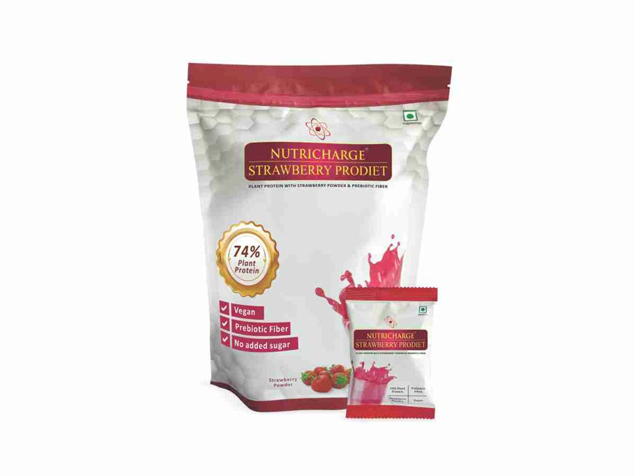 New Nutricharge Strawberry Prodiet Doy Pack