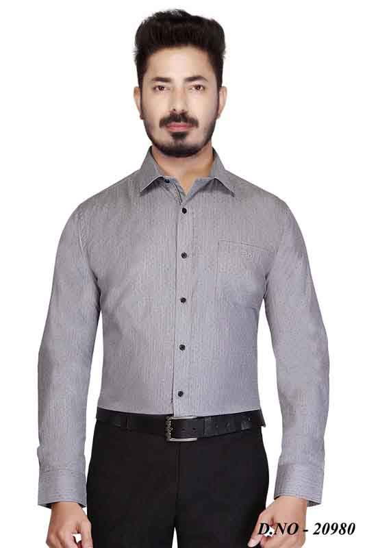 TA 003-BLACK FORMAL SHIRT