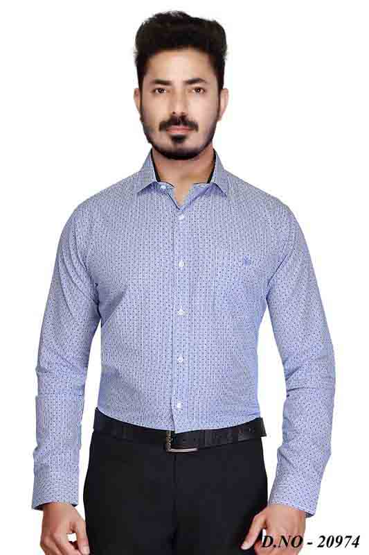 TA 001-NAVY-FORMAL SHIRT