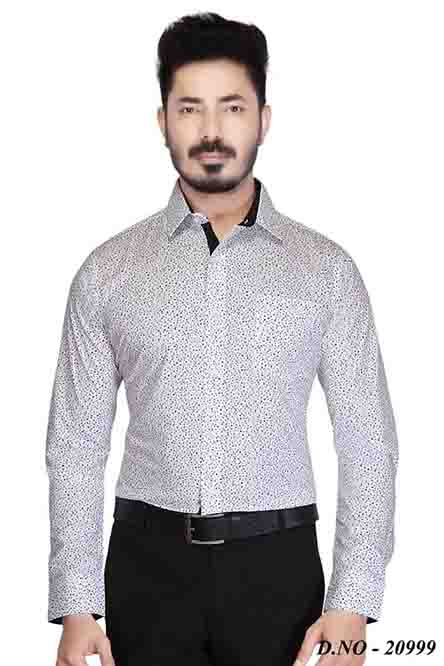 TA 018-BLACK FORMAL SHIRT