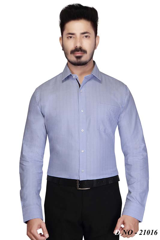 TA 039-LT BLUE FORMAL SHIRT