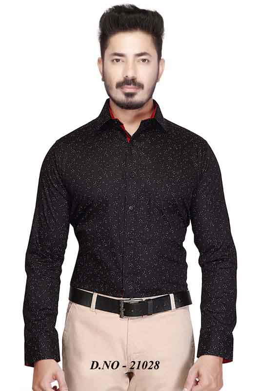 TA 047-DARK BROWN FORMAL SHIRT