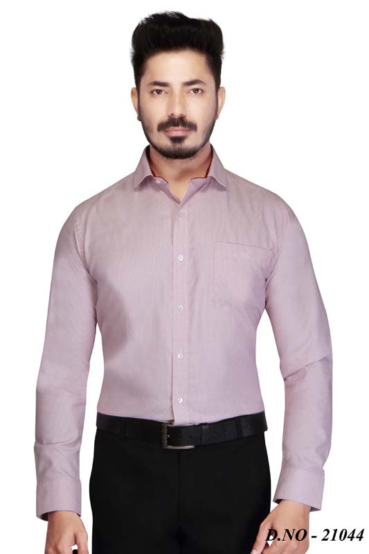 TA 056-LIGHT PINK FORMAL SHIRT