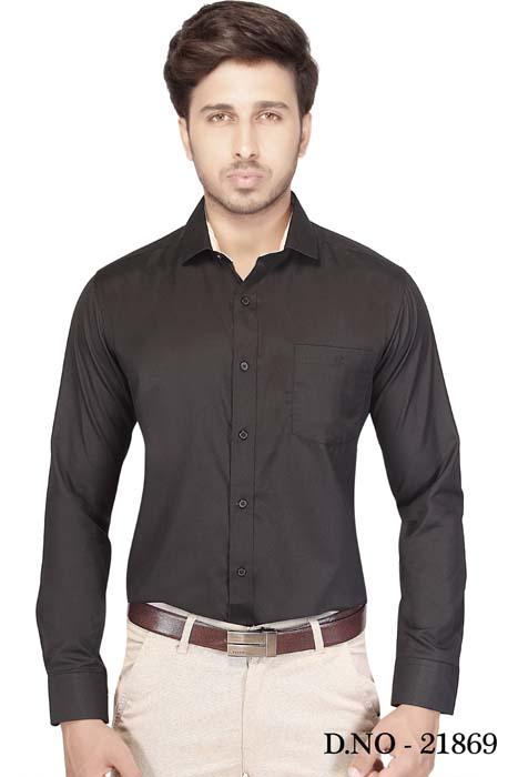 TA 110196 01-BLACK FORMAL SHIRT