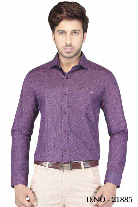 TA 120297 02-PURPLE FORMAL SHIRT