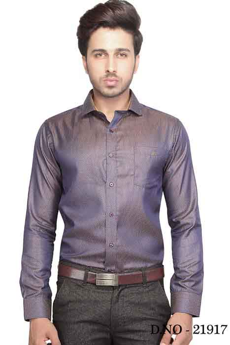 TA 120377 03-GRAY FORMAL SHIRT