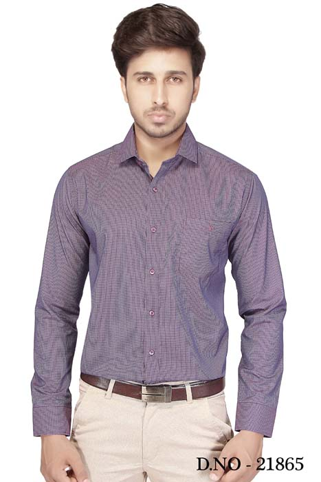 TA 120393 03-PURPLE FORMAL SHIRT