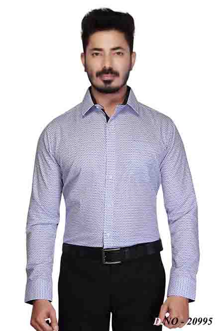 TA 015-BLUE FORMAL SHIRT