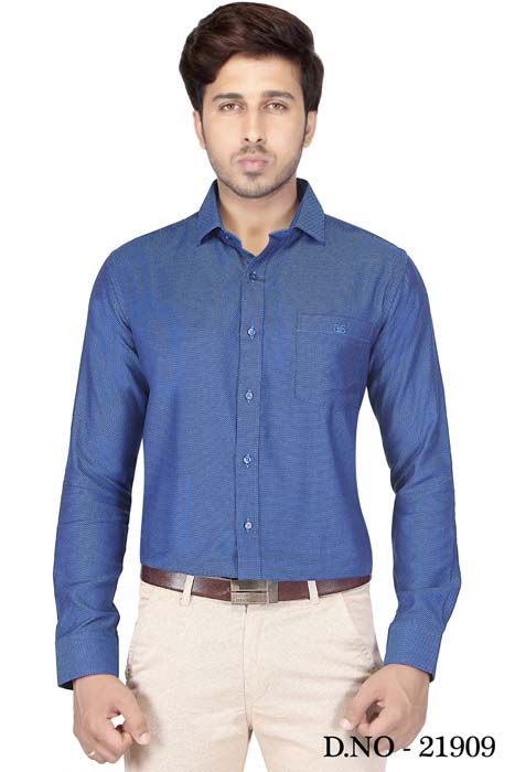 TA J6033-DEPTH BLUE FORMAL SHIRT