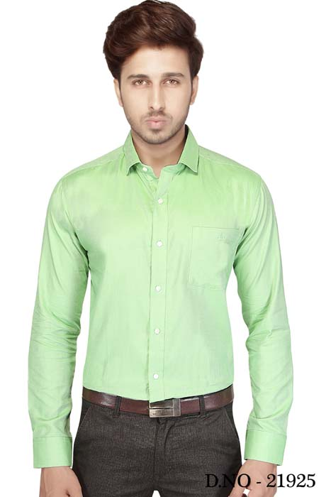 TA JB 1811-GREEN FORMAL SHIRT