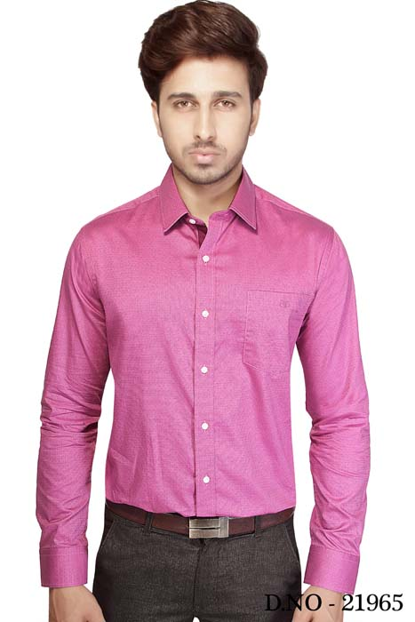 TA JEL 175-DARK PINK FORMAL SHIRT
