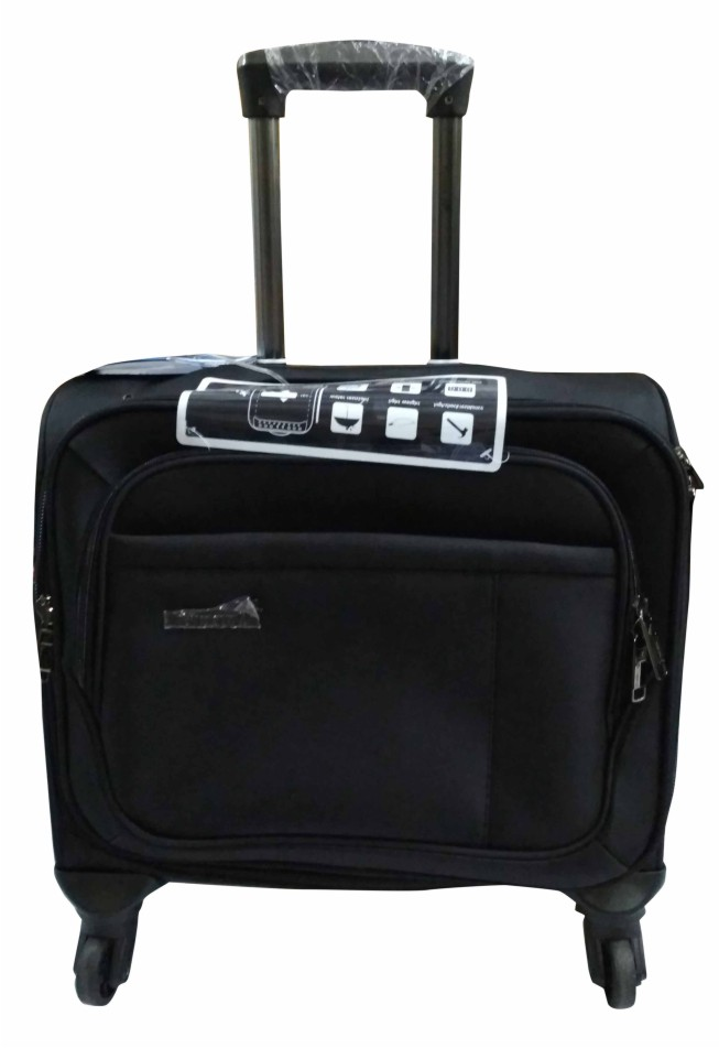 "TB PILOT 17""-BLACK 17 TRAVEL BAG"