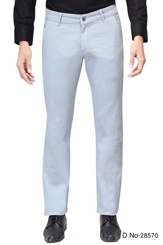 UTD 1008-1-SKY BLUE CASUAL TROUSER