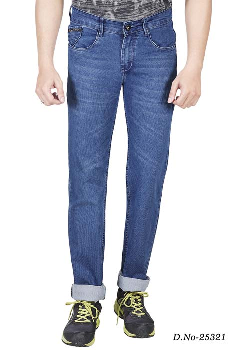UTD 1289-MV SPRAY KNITTED DENIM