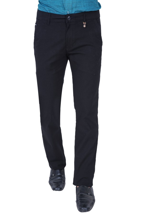UTD 15 - Black Casual Trousers