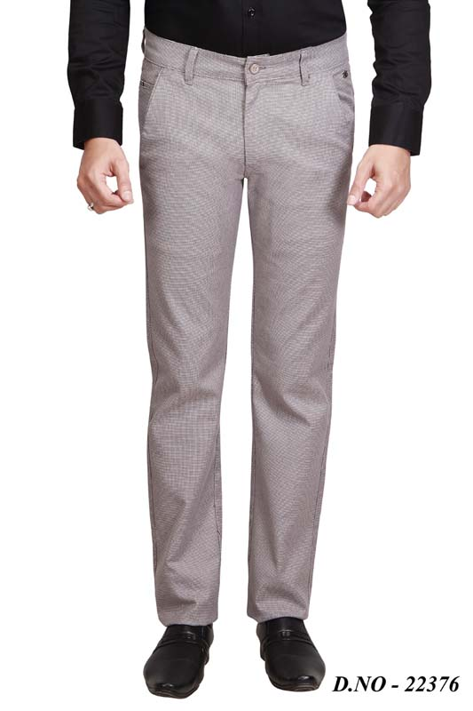 UTD 314 LAYCRA-LIGHT COFFEE CASUAL TROUSER