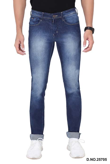 UTD 72232-D V BLUE SPRAY KNITTED DENIM
