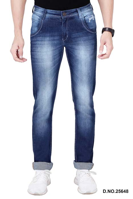 UTD 72231-MV BLUE SPRAY KNITTED DENIM