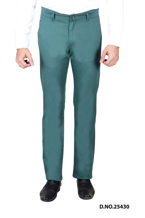 UTD STYLE 824-GREEN CASUAL TROUSER