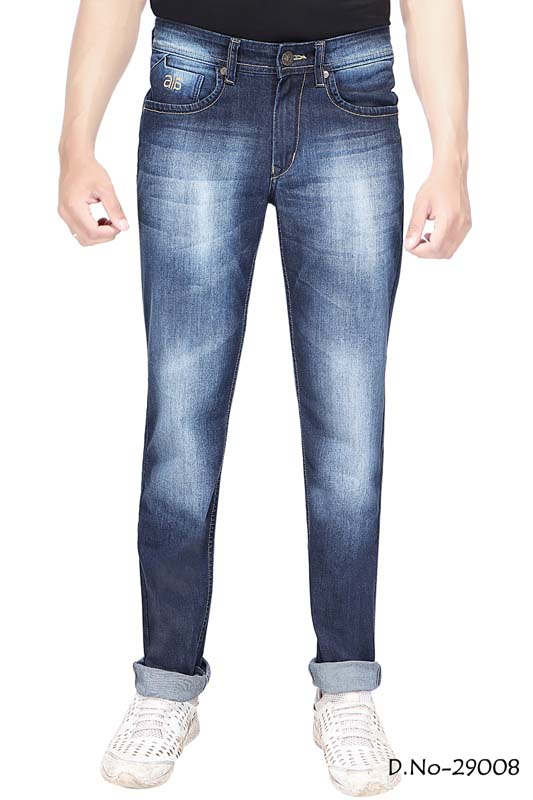 UTD D-10-D V SPRAY KNITTED DENIM