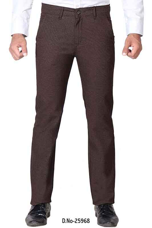 UTD D 1002-COFFEE CASUAL TROUSER