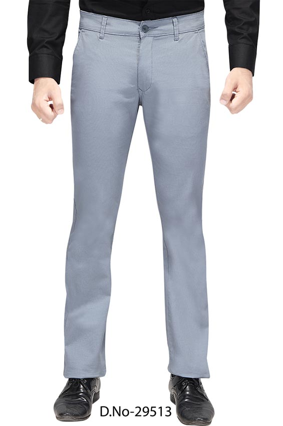 UTD D 309-1-SKY BLUE CASUAL TROUSER