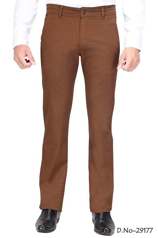 UTD D 309-COFFEE CASUAL TROUSER