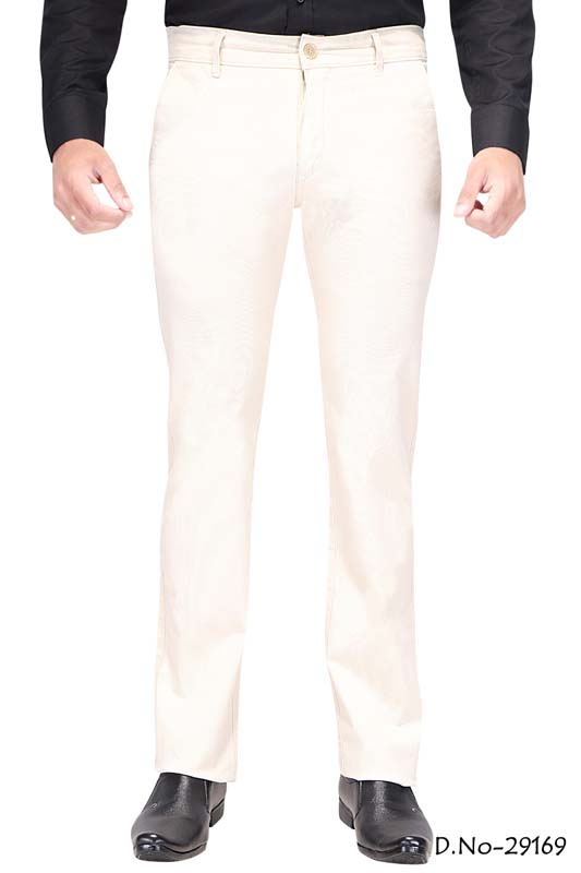 UTD D 309-CREAM CASUAL TROUSER