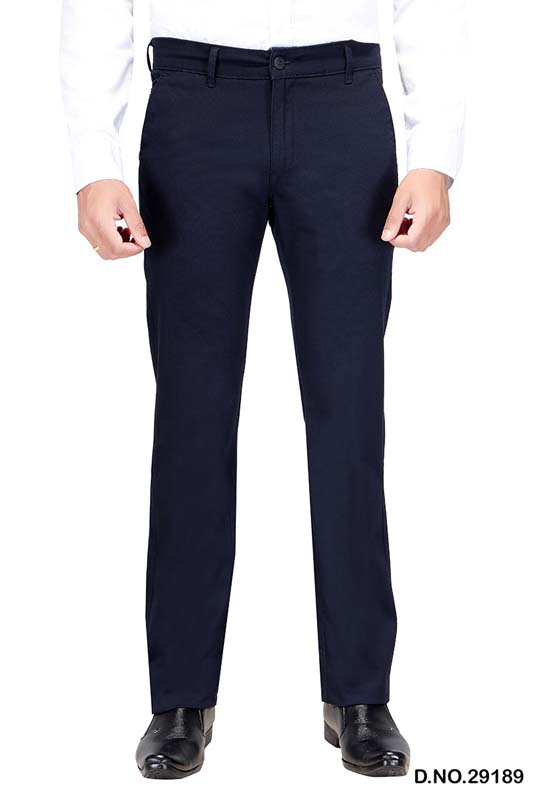 UTD D 309-NAVY BLUE CASUAL TROUSER