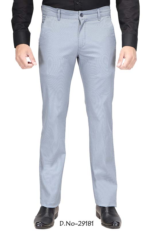 UTD D 309-SKY BLUE CASUAL TROUSER