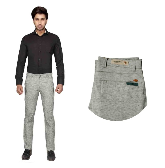 UTD STYLE D-857-GREEN CASUAL TROUSER