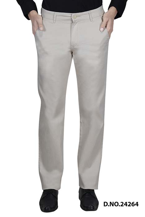 UTD VINTAGE 1027-CREAM CASUAL TROUSER