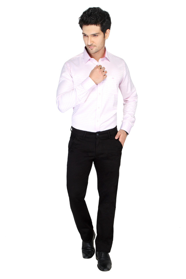 UTD FD1 BLACK CASUAL TROUSER