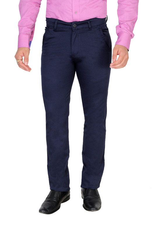 UTD ECO RANGE 3-NAVY CASUAL TROUSER