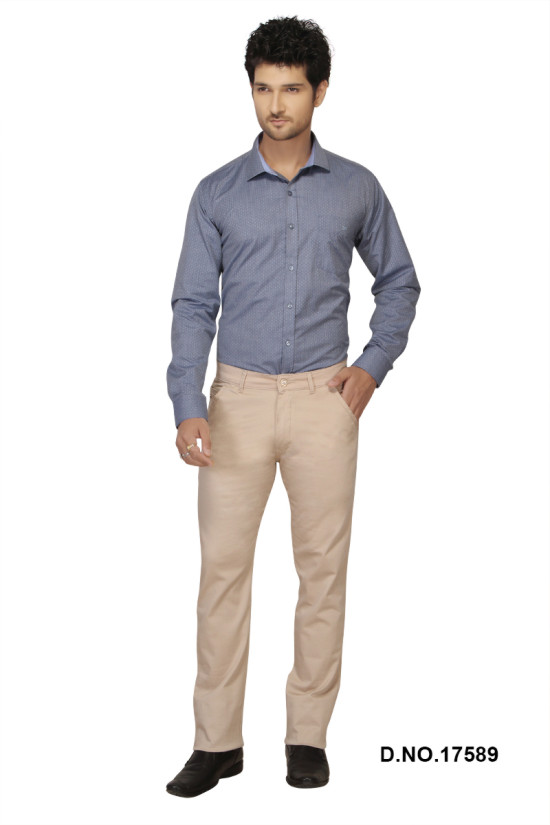 UTD FD 3-CREAM CASUAL TROUSER