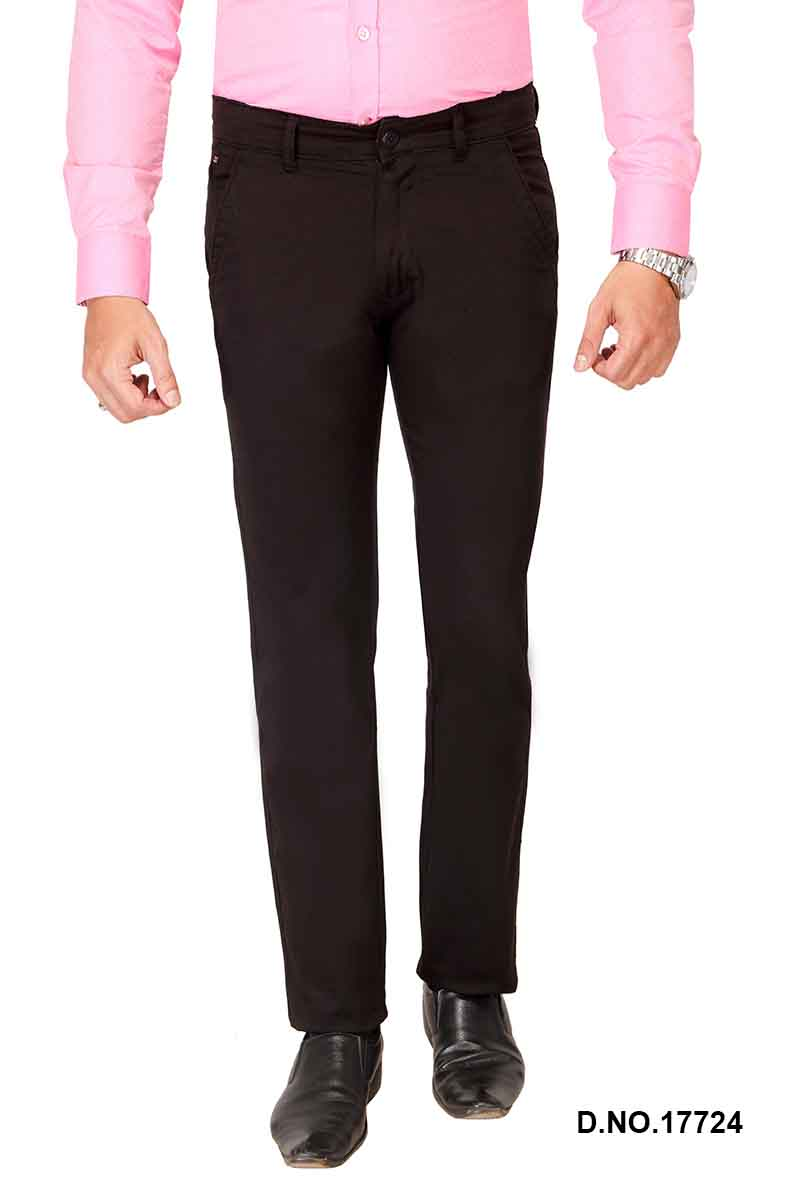 UTD FD 4-BLACK CASUAL TROUSER