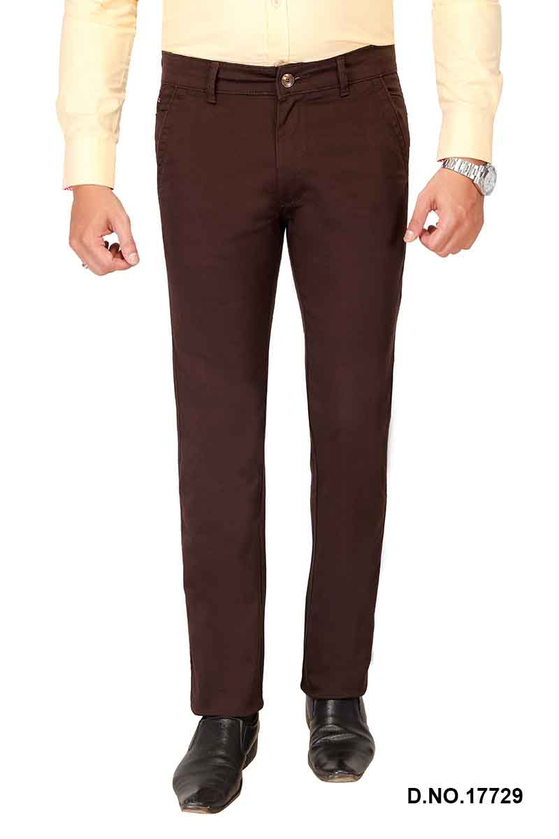 UTD FD 4-COFFEE CASUAL TROUSER