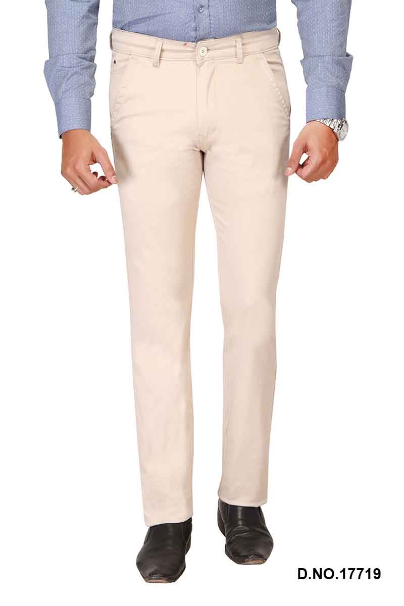 UTD FD 4-CREAM CASUAL TROUSER