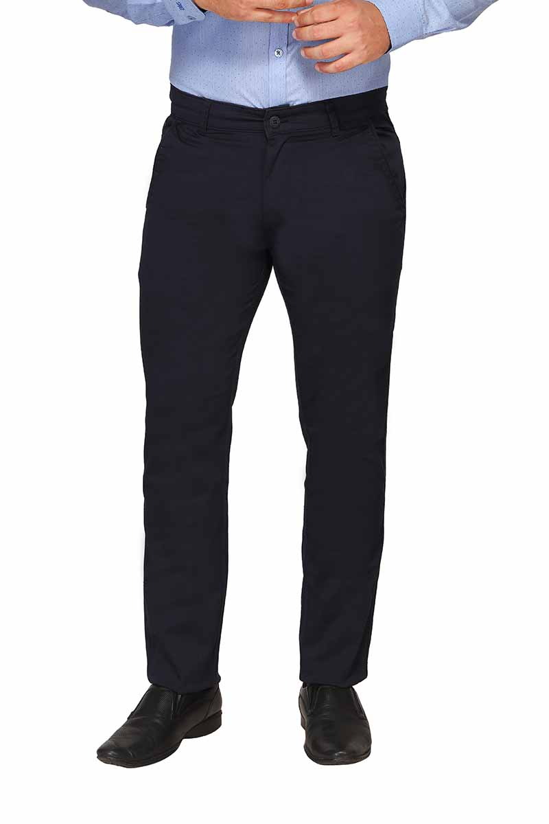 UTD FD 4-NAVY BLUE CASUAL TROUSER