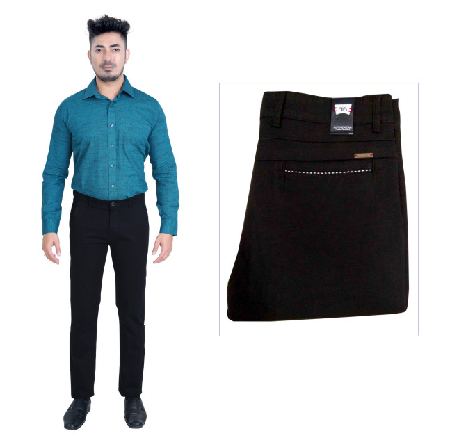 UTD FD 5-BLACK CASUAL TROUSER
