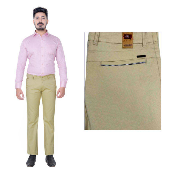 UTD FD 5-CREAM CASUAL TROUSER