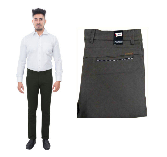 UTD FD 5-GRAY CASUAL TROUSER