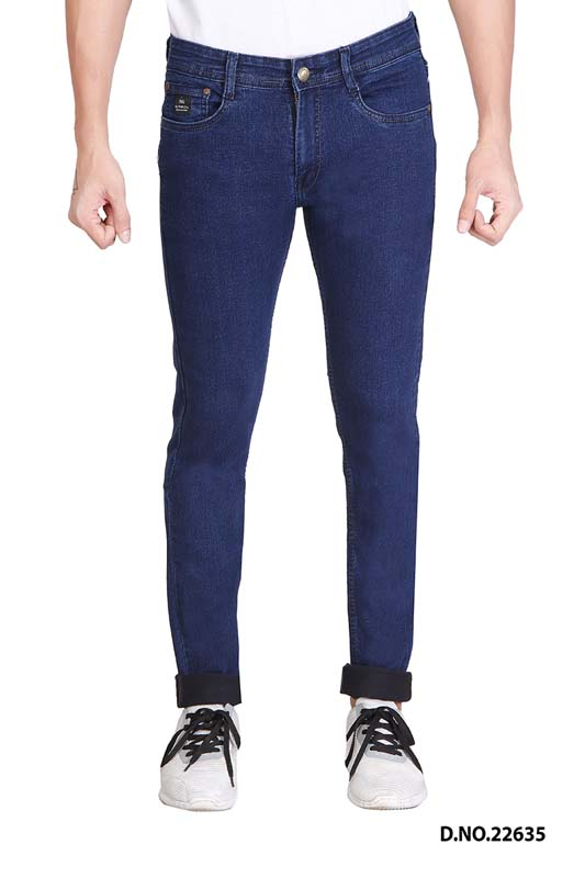 UTD JET LYCRA-M V SPRAY KNITTED DENIM