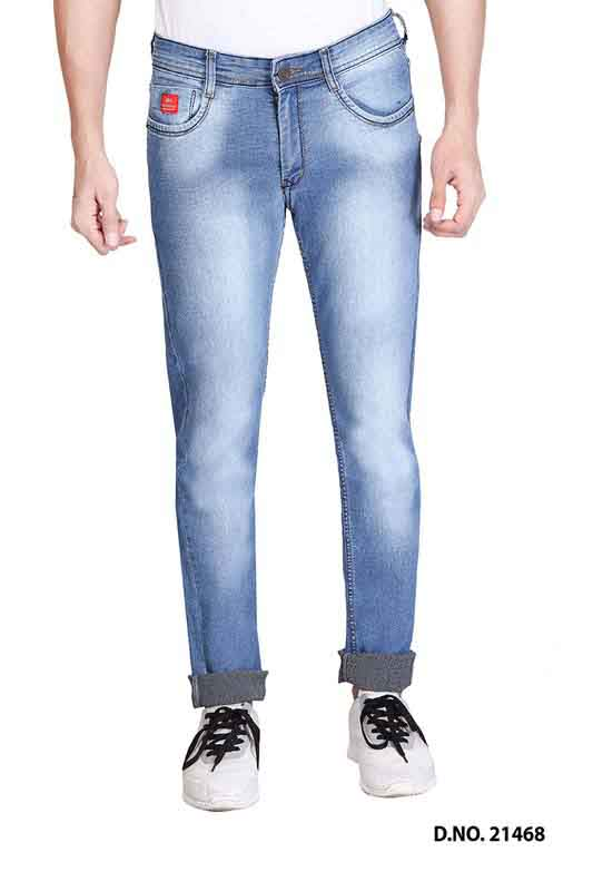 UTD LAXI DENIM-L V SPRAY KNITTED DENIM