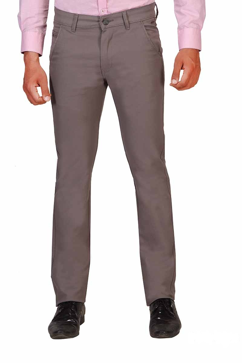 UTD SINGLE BONE 1-LIGHT COFFEE CASUAL TROUSER