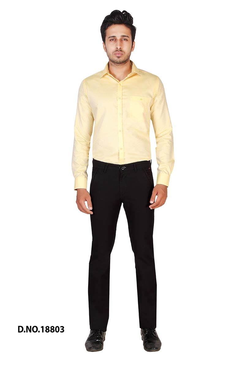 UTD POCKET 2-BLACK CASUAL TROUSER